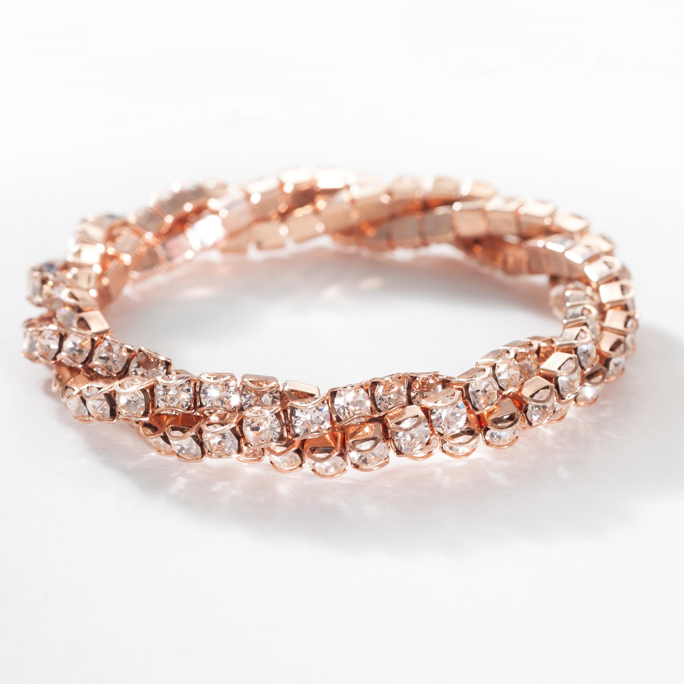 Enlarge Image 1 2 Blush Twisted Bracelet